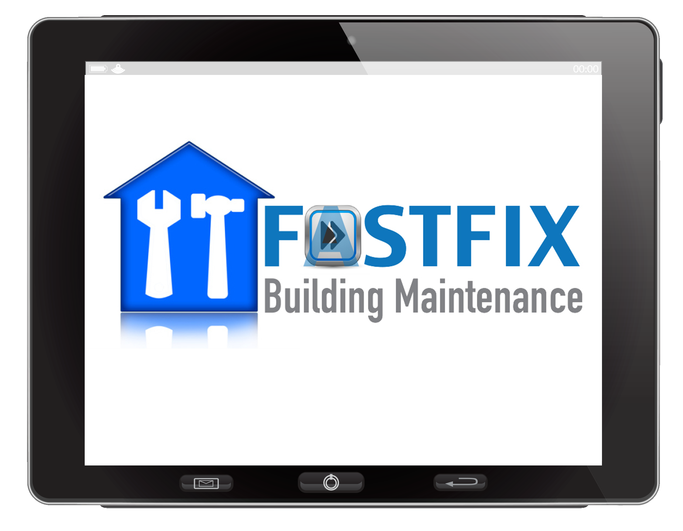 Fastfix-logo-in-iPad
