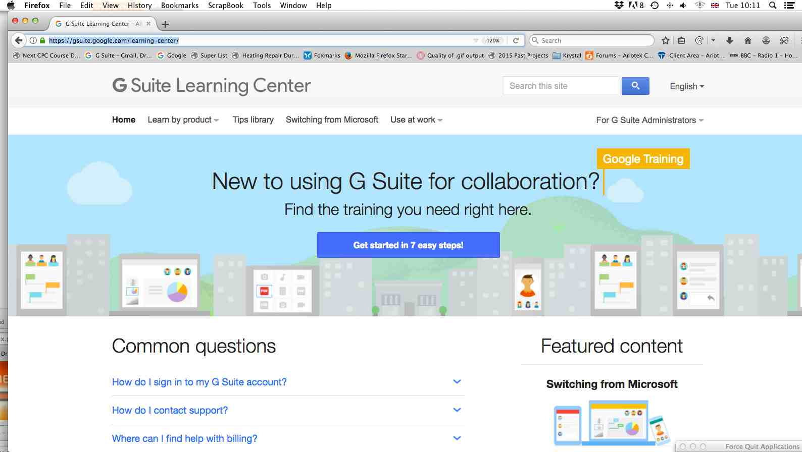 GSuite Learning Centre