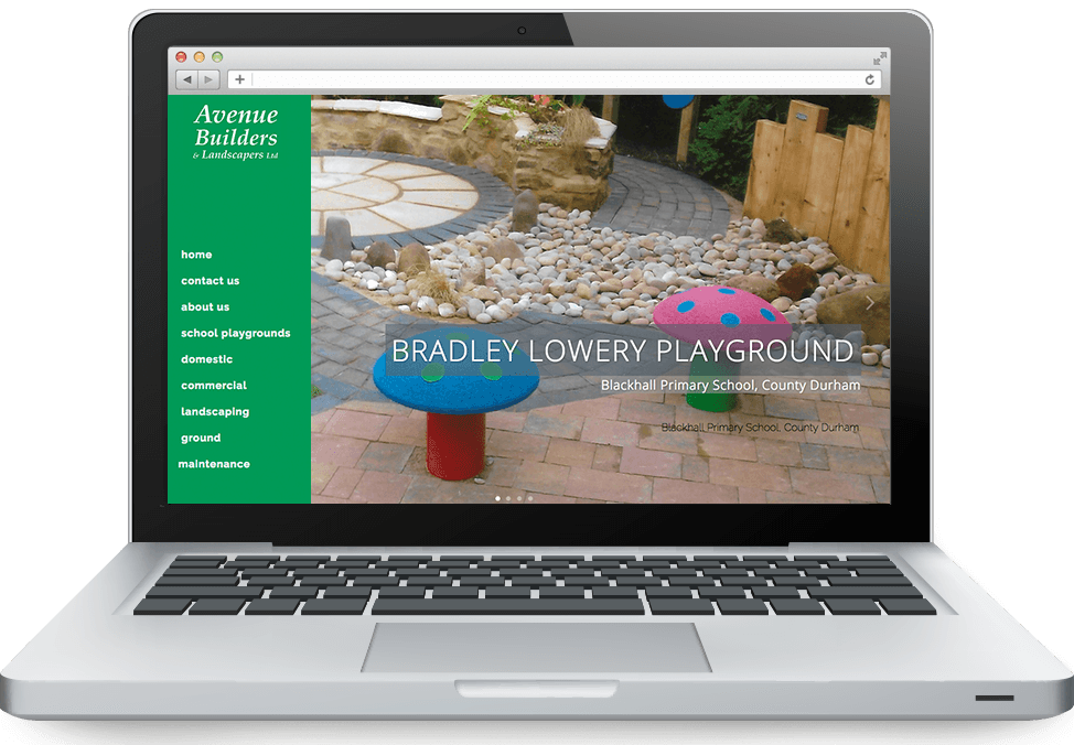 Avenue-Builders-on-ibook-laptop